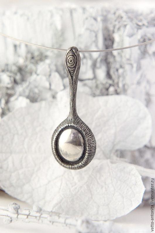 Кулоны, подвески ручной работы. Ярмарка Мастеров - ручная работа. Купить Око леса - кулон из серебра. Handmade. Кулон серебро