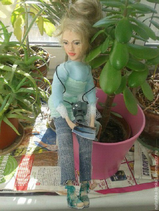 Коллекционные куклы ручной работы. Ярмарка Мастеров - ручная работа. Купить Авторская кукла. Handmade. Белый, авторская игрушка