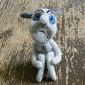 Куклы и игрушки ручной работы. Ярмарка Мастеров - ручная работа Авторская войлочная кукла Зависть. Handmade.
