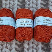 Материалы для творчества handmade. Livemaster - original item Debbie Bliss Baby Cashmerino Terracotta. Handmade.