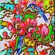 """Картины цветов ручной работы. Ярмарка Мастеров - ручная работа. Купить """"Магнолия"""" Витражная роспись стекла. Handmade. Роспись по стеклу"""