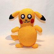 Куклы и игрушки ручной работы. Ярмарка Мастеров - ручная работа Покемон Пикачу. Handmade.