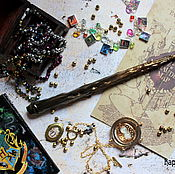 Субкультуры handmade. Livemaster - original item The author`s Magic wand Harry Potter Harry Potter. Handmade.