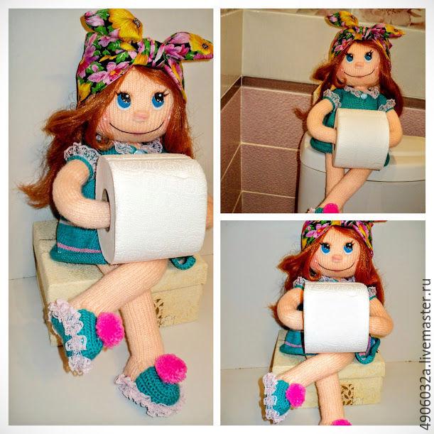 Текстильные куклы держатели туалетной бумаги мастер класс 39