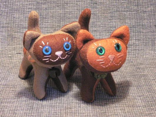 Игрушки животные, ручной работы. Ярмарка Мастеров - ручная работа. Купить Котенок. Handmade. Котенок