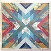 Картины и панно ручной работы. Ярмарка Мастеров - ручная работа Панно True blue. Handmade.