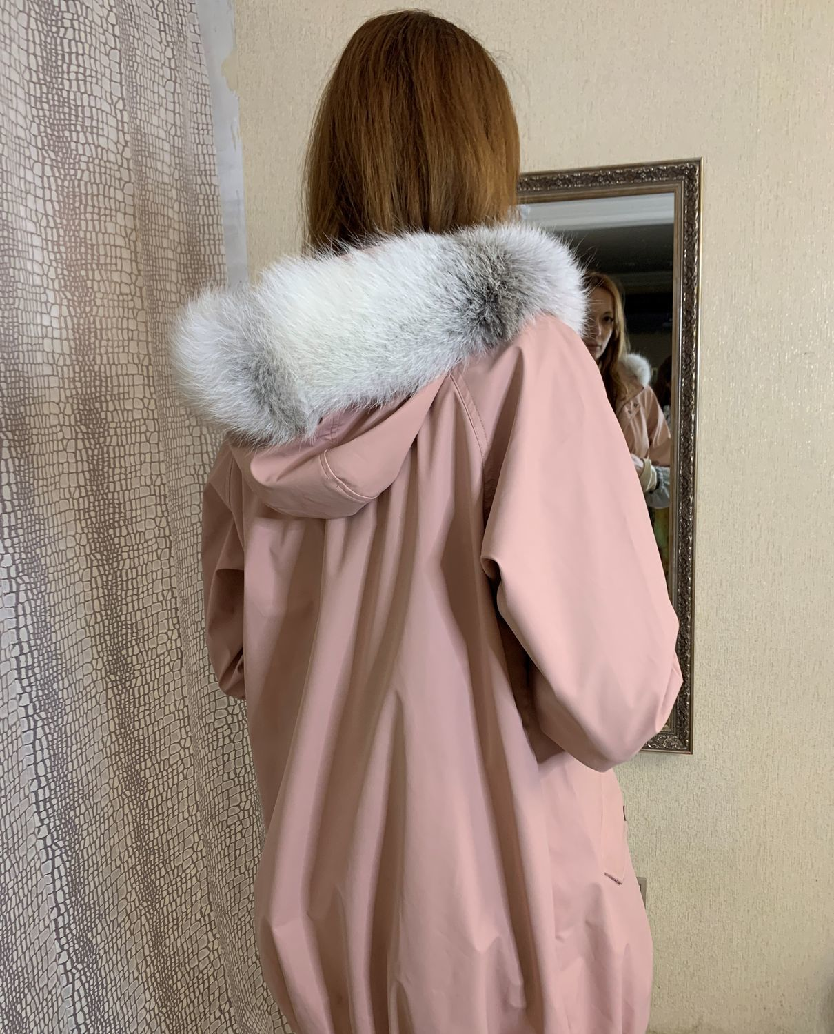 Fur trim on the hood, Outerwear Jackets, Moscow,  Фото №1