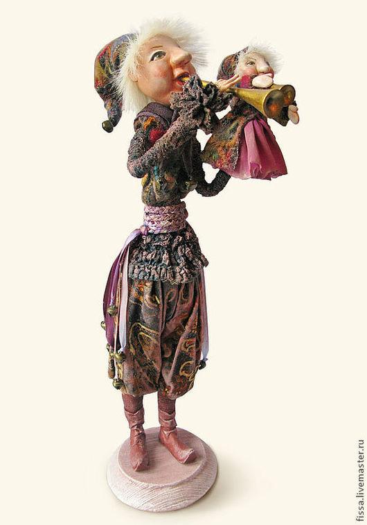 Коллекционные куклы ручной работы. Ярмарка Мастеров - ручная работа. Купить Скоморох. Handmade. Кукла ручной работы, русский стиль