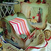 """Для дома и интерьера ручной работы. Ярмарка Мастеров - ручная работа Набор """"FOR PARTY"""". Handmade."""
