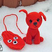 Куклы и игрушки ручной работы. Ярмарка Мастеров - ручная работа Варежка + варежка. Handmade.