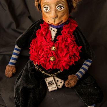 Куклы и игрушки ручной работы. Ярмарка Мастеров - ручная работа Куклы: Обезьянка Марта.. Handmade.
