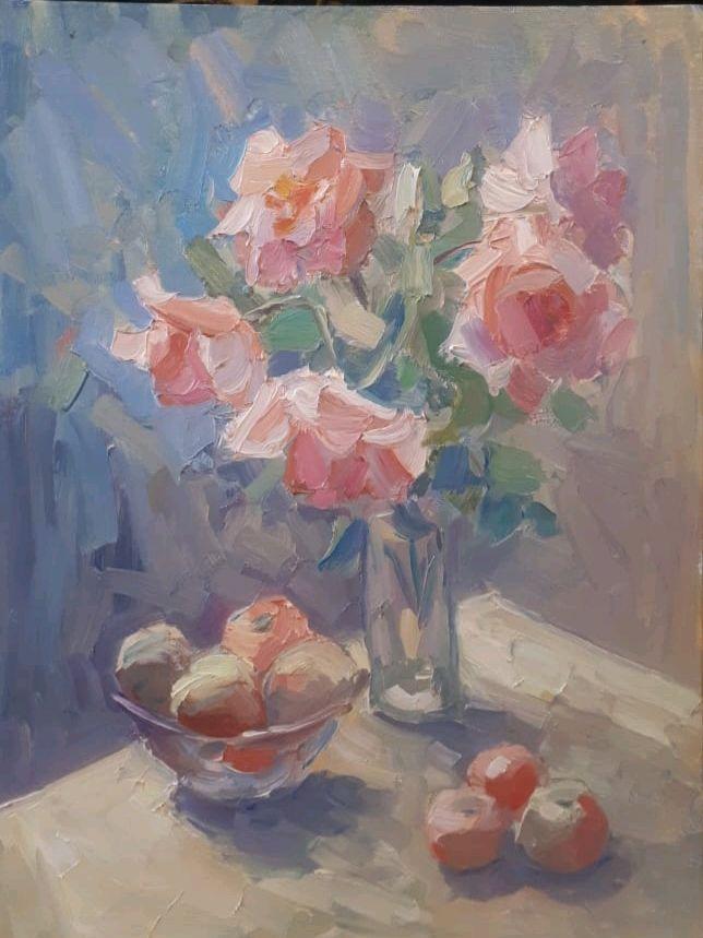 Розы, Картины, Москва, Фото №1