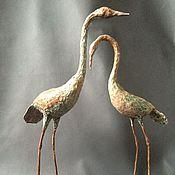 Для дома и интерьера ручной работы. Ярмарка Мастеров - ручная работа Изящные цапли. Handmade.
