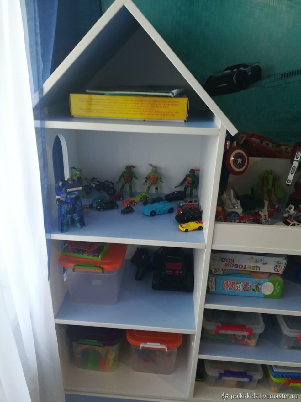 Замок домик стеллаж для книг, игрушек в детскую, Кукольные домики, Санкт-Петербург, Фото №1