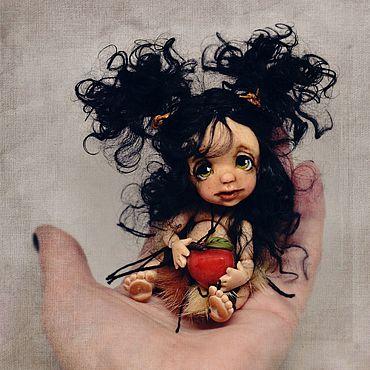 Куклы и игрушки ручной работы. Ярмарка Мастеров - ручная работа Шарнирная куколка бжд «Дикарочка». Handmade.