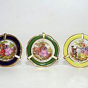 Винтаж handmade. Livemaster - original item Limoges miniature plates. Handmade.