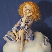 Куклы и игрушки ручной работы. Ярмарка Мастеров - ручная работа Мечтательная. Handmade.