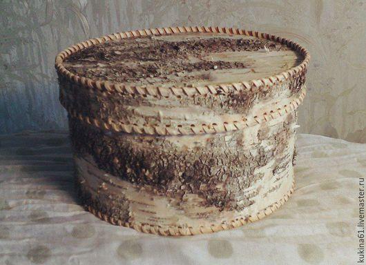 Подарочная упаковка ручной работы. Ярмарка Мастеров - ручная работа. Купить туес из бересты. Handmade. Чёрно-белый, хранение мелочей