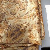 Материалы для творчества ручной работы. Ярмарка Мастеров - ручная работа ткань портьерная для штор. Handmade.