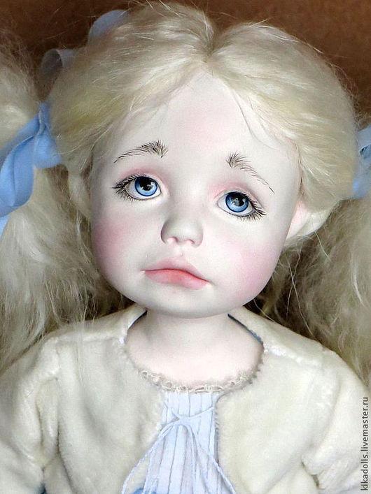 """Коллекционные куклы ручной работы. Ярмарка Мастеров - ручная работа. Купить """"Дедушка Мороз, принеси мне новую куклу..."""". Handmade."""