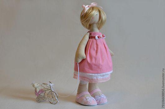 Коллекционные куклы ручной работы. Ярмарка Мастеров - ручная работа. Купить Софи. Handmade. Кукла ручной работы, американский хлопок