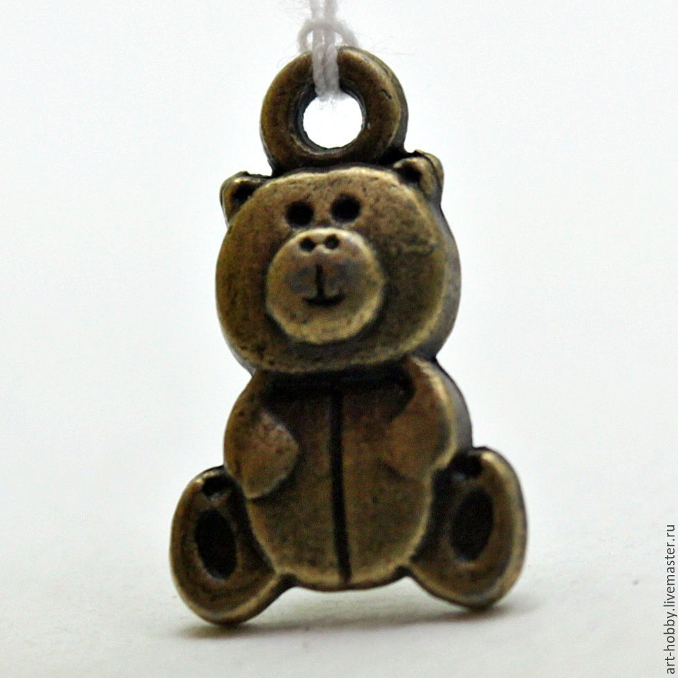 pendant 'bear', Accessories for dolls and toys, Moscow,  Фото №1