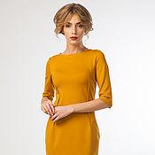 Одежда ручной работы. Ярмарка Мастеров - ручная работа Платье1060  Бизнес- Леди. Handmade.