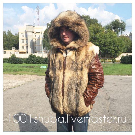 Верхняя одежда ручной работы. Ярмарка Мастеров - ручная работа. Купить Мужская куртка с отстежными рукавами. Handmade. Мужская куртка