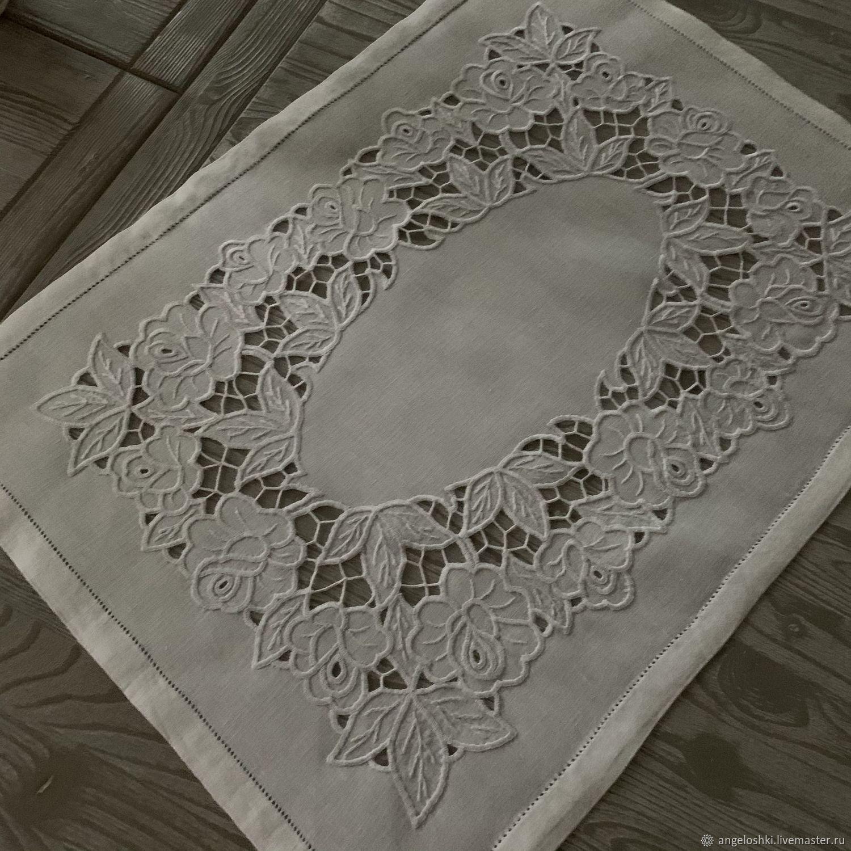 Napkins: Richelieu, handmade, Swipe, Moscow,  Фото №1