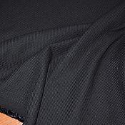 Материалы для творчества ручной работы. Ярмарка Мастеров - ручная работа Костюмная ткань в рубчик, Италия. Handmade.