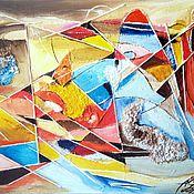 Картины и панно ручной работы. Ярмарка Мастеров - ручная работа Эффект бабочки. Handmade.