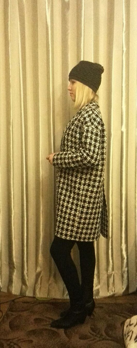 Верхняя одежда ручной работы. Ярмарка Мастеров - ручная работа. Купить Пальто. Handmade. Пальто женское, оверсайз, пальто весеннее