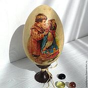 Подарки к праздникам handmade. Livemaster - original item Easter egg Vintage. Handmade.