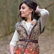 Одежда handmade. Livemaster - original item Double-sided vest