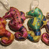 Куклы и игрушки handmade. Livemaster - original item Soft toys: for the Christmas tree. Action!. Handmade.