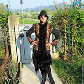 """Одежда ручной работы. Ярмарка Мастеров - ручная работа Валяный жакет """"Черные глаза""""2. Handmade."""