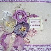Канцелярские товары ручной работы. Ярмарка Мастеров - ручная работа Фотоальбом для девочки. Handmade.