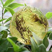 """Косметика ручной работы. Ярмарка Мастеров - ручная работа """"Зелёная нежность"""" мыло. Handmade."""