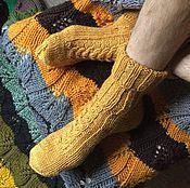 Аксессуары ручной работы. Ярмарка Мастеров - ручная работа Мужские носки Осень. Handmade.