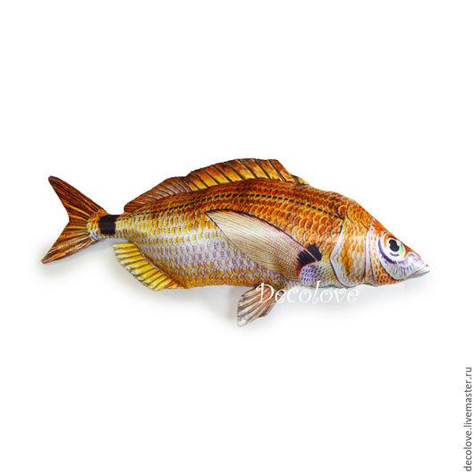 Подарки для мужчин, ручной работы. Ярмарка Мастеров - ручная работа. Купить Рыба Морской Карась подарок мужчине на день рождения подарок рыбаку. Handmade.