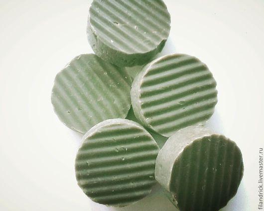 """Мыло ручной работы. Ярмарка Мастеров - ручная работа. Купить """"Хвойное""""натуральное мыло с хлорофил- каротиновой пастой. Handmade. Хаки"""