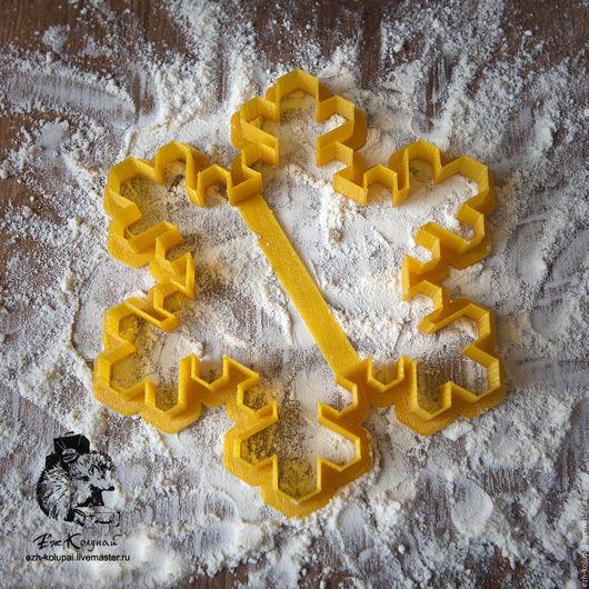 Кухня ручной работы. Ярмарка Мастеров - ручная работа. Купить Большая снежинка- №240 Вырубка для печенья и пряников. Handmade.