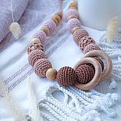Одежда handmade. Livemaster - original item Slingobusy with rings