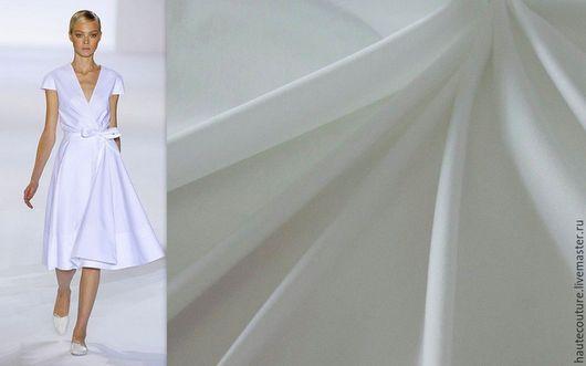 """Шитье ручной работы. Ярмарка Мастеров - ручная работа. Купить Рубашечный хлопок""""Молочный"""". Handmade. Ткани из италии, натуральные ткани"""