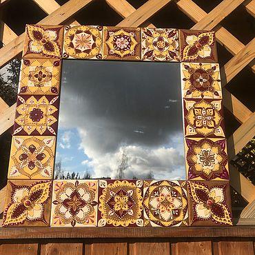 Для дома и интерьера ручной работы. Ярмарка Мастеров - ручная работа Зеркало души. Handmade.