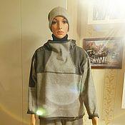 """Одежда ручной работы. Ярмарка Мастеров - ручная работа Костюм женский """"несколько оттенков серого"""". Handmade."""