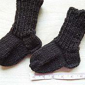 Куклы и игрушки ручной работы. Ярмарка Мастеров - ручная работа носочки для кукол и мишек, вязаные на спицах. Handmade.