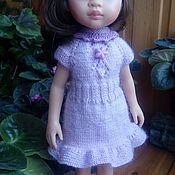 Одежда для кукол ручной работы. Ярмарка Мастеров - ручная работа Одежда для кукол: платье для куклы Паола Рейна 32 см. Handmade.