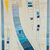 """Картины и панно ручной работы. Ярмарка Мастеров - ручная работа Текстильное панно """"Лестница в небо"""". Handmade."""