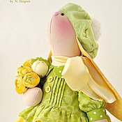Куклы и игрушки ручной работы. Ярмарка Мастеров - ручная работа Sunny. Солнечная зайка. Handmade.